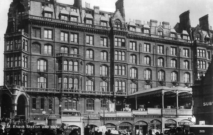 St Enoch Square Glasgow History