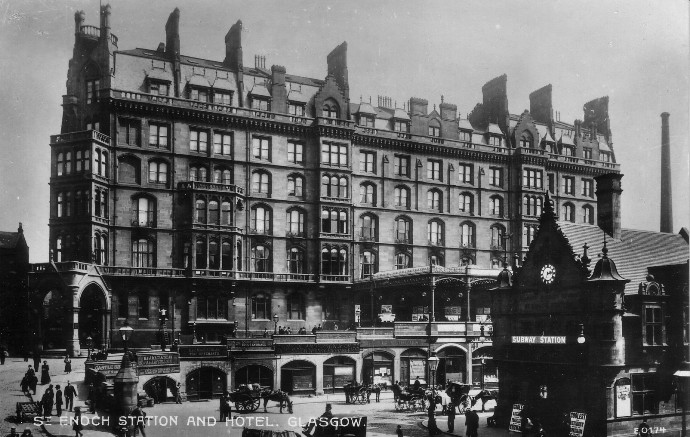 Glasgow Train Station Hotel