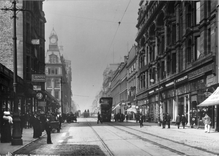 Image result for sauchiehall street in the 70s