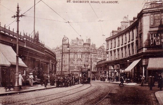 Grand Hotel Glasgow Demolished