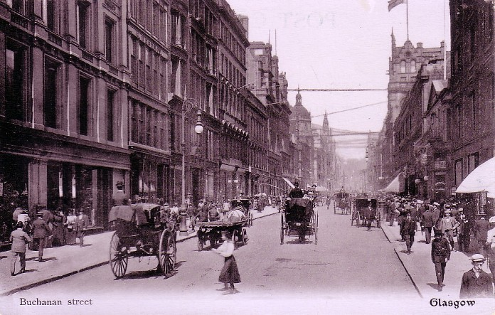 We Have Now Moved Slightly Further Up Buchanan Street