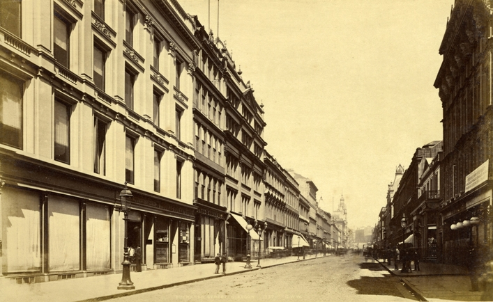 This Early Photograph Of Buchanan Street