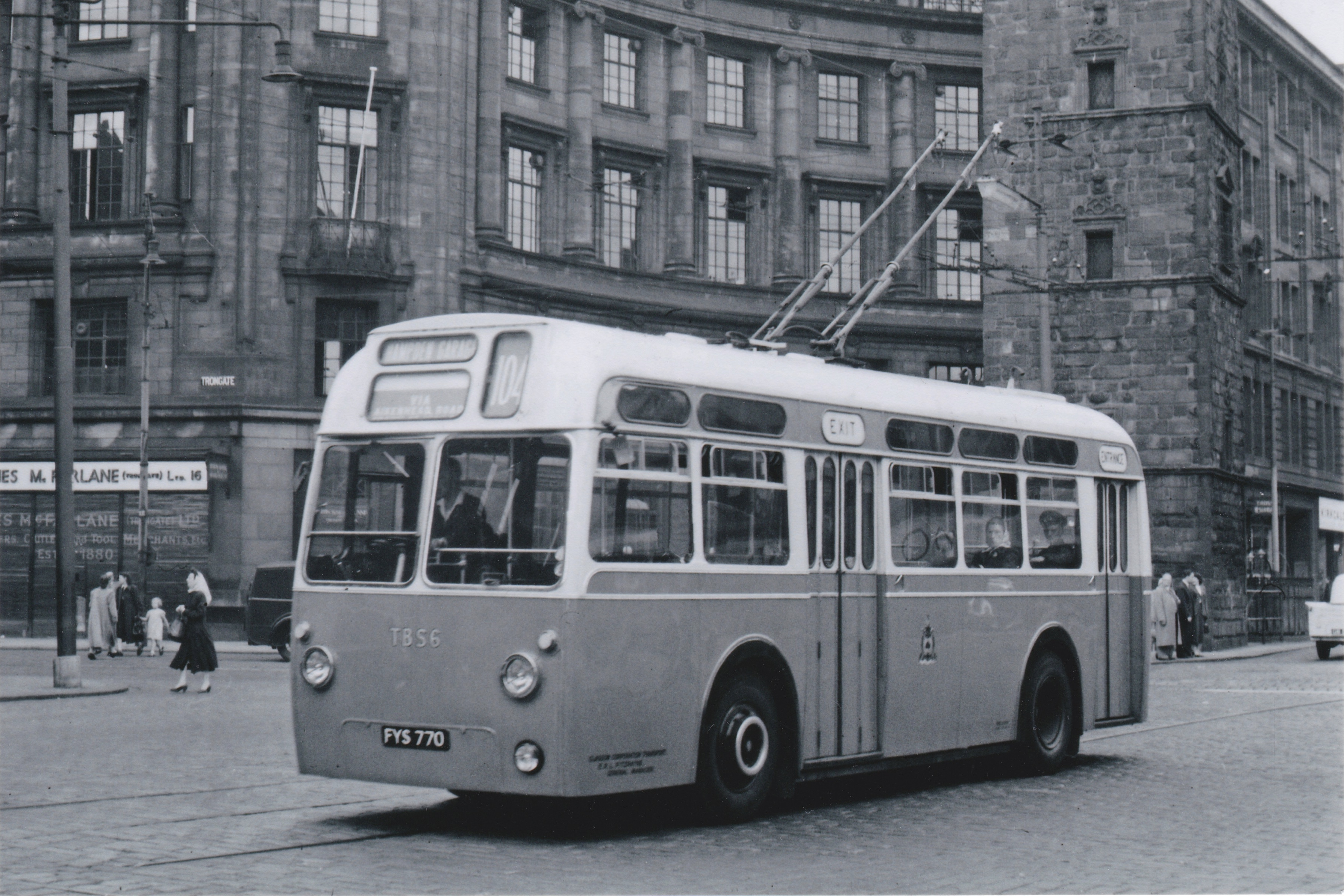 Glasgow's Trolleybuses